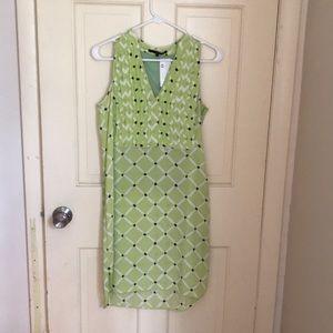 NWT Tibi silk shirt dress